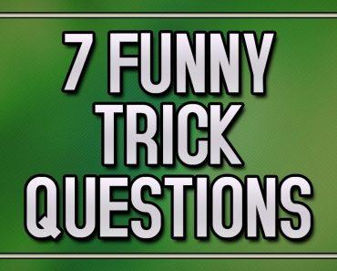 7 Funny Trick Questions - 90% fail