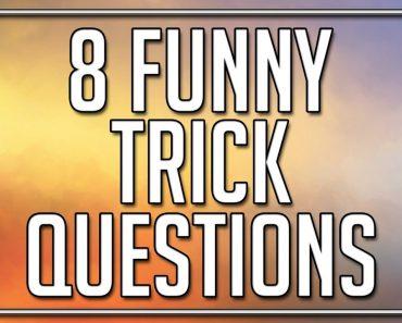 8 Funny Trick Questions - 90% fail
