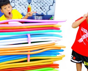 Kudo Pretend Play Surprise Funny Colors Balloons