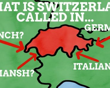 What Is Switzerland Called In Its Four Languages?