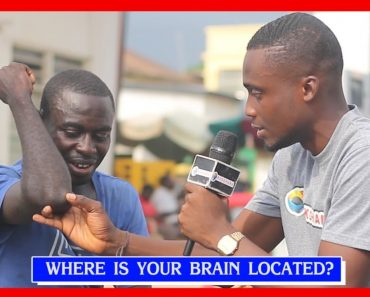 Where is your BRAIN located?   Street Quiz   Funny Videos   Funny African Videos   African Comedy