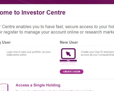 Investor Centre (Aust & NZ) - How to login
