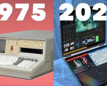 Evolution of Laptops (Portable Computers) 1975 - 2020