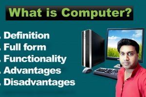 What is computer | Functionality of computer